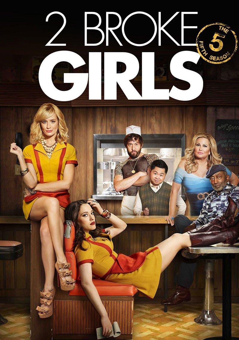 Dvi merginos be cento (1, 2, 3, 4, 5, 6 sezonas) / 2 Broke Girls  (2011-2017)