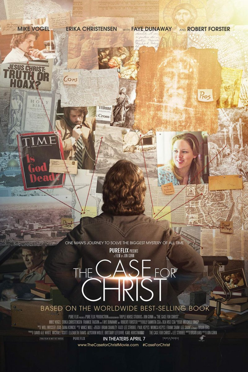 KRISTAUS BYLA / THE CASE FOR CHRIST (2017)