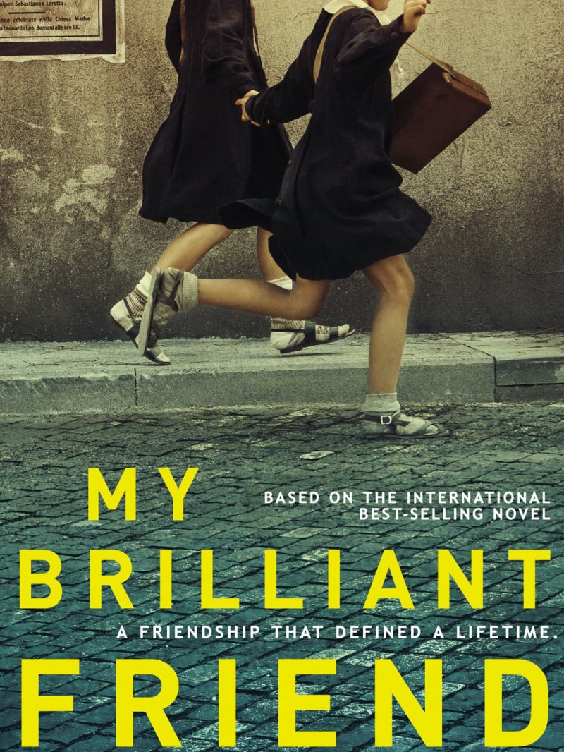 MY BRILLIANT FRIEND (1 Sezonas) / L'AMICA GENIALE Season 1