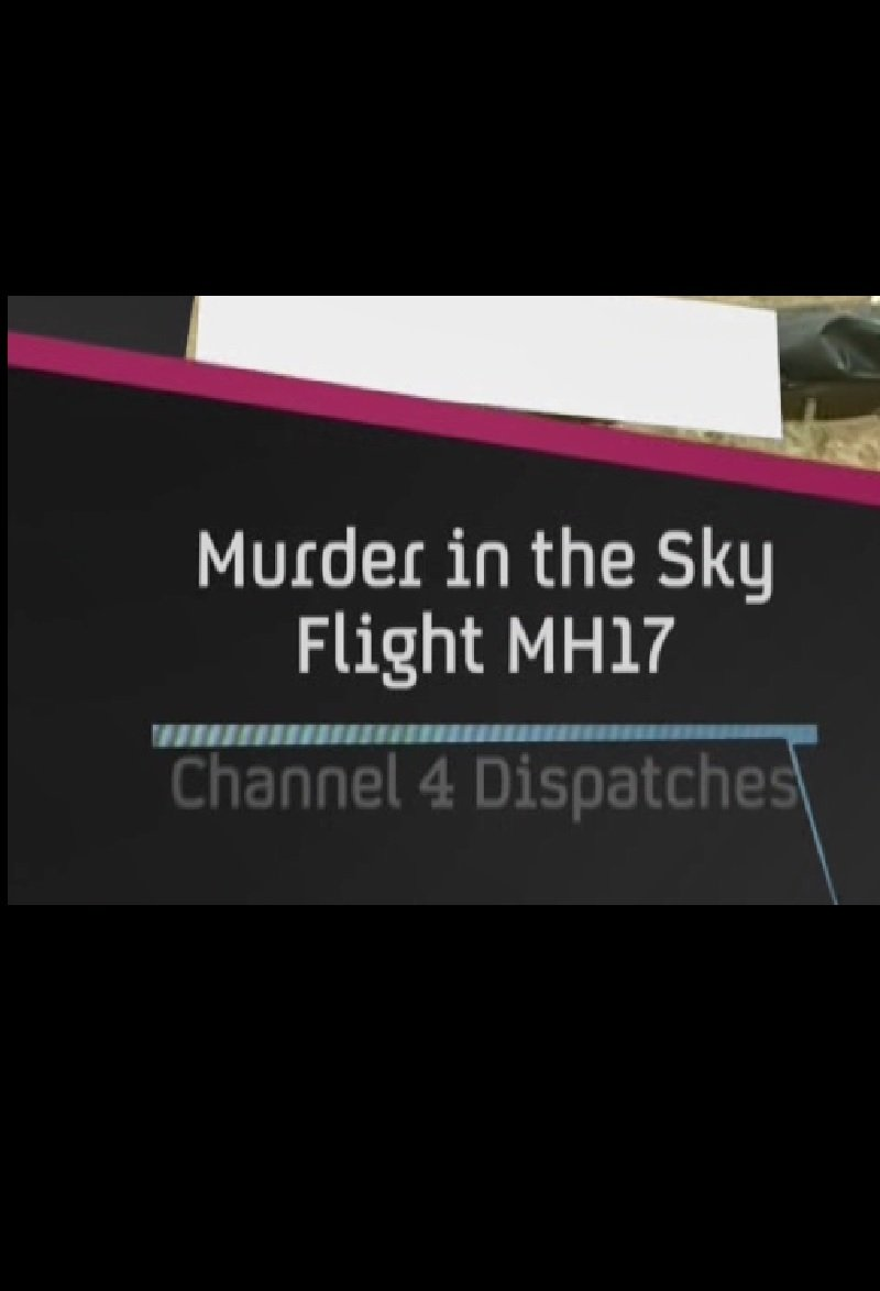 ŽUDYNĖS DANGUJE. REISAS MH17 / Murder in the Sky: Flight MH17